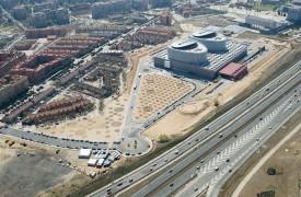 Desarrollo de las obras del Nuevo Hospital de Móstoles
