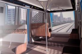 Propuesta interior vagones metro Riad